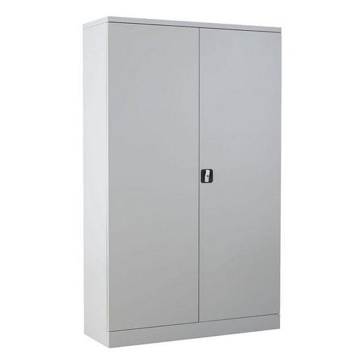 GUERKAN Aktenschrank aus Stahl, extra breit und mit 215°-öffnenden Türen