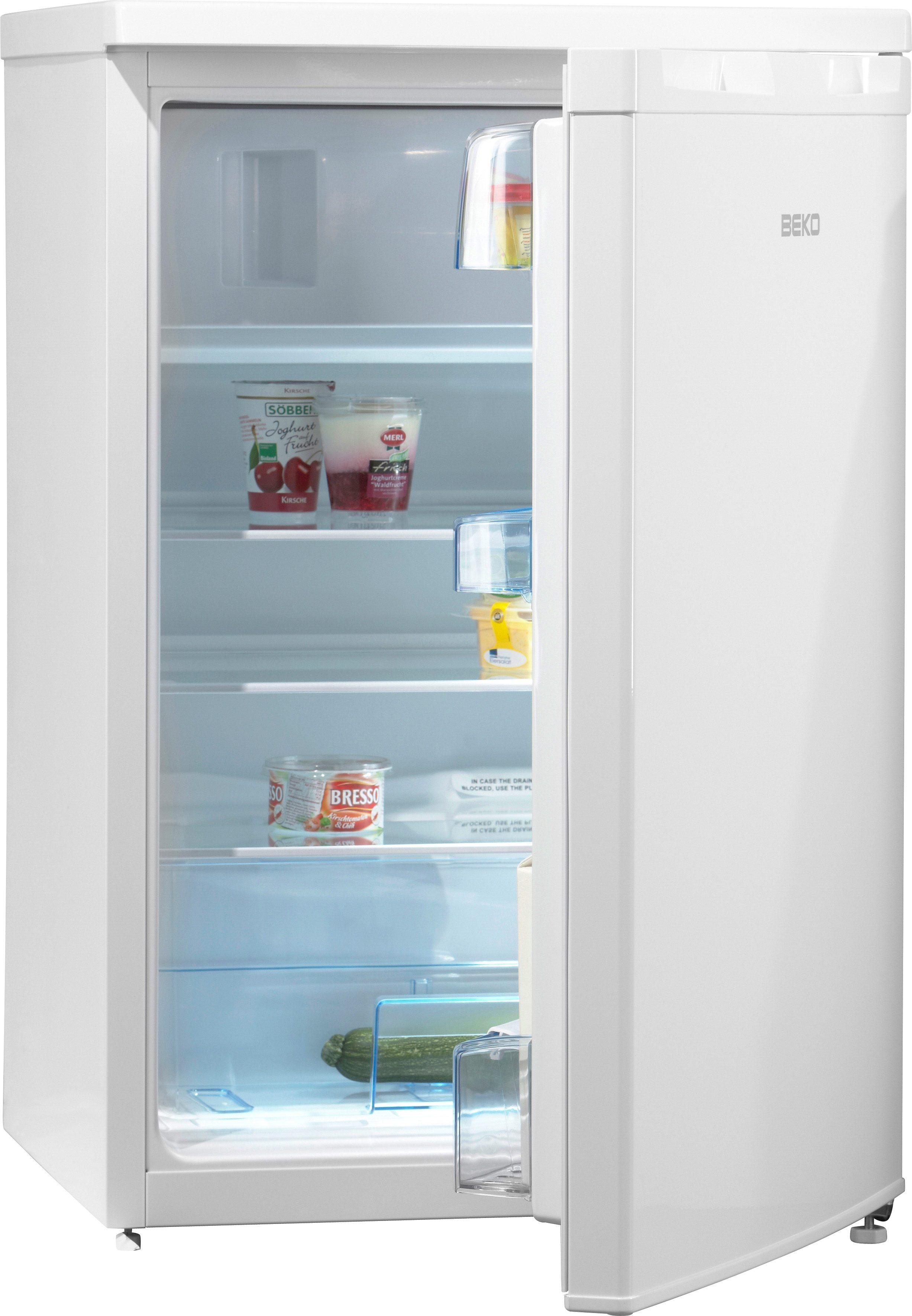 Beko Kühlschrank TSE 1283, A++, 84 cm hoch