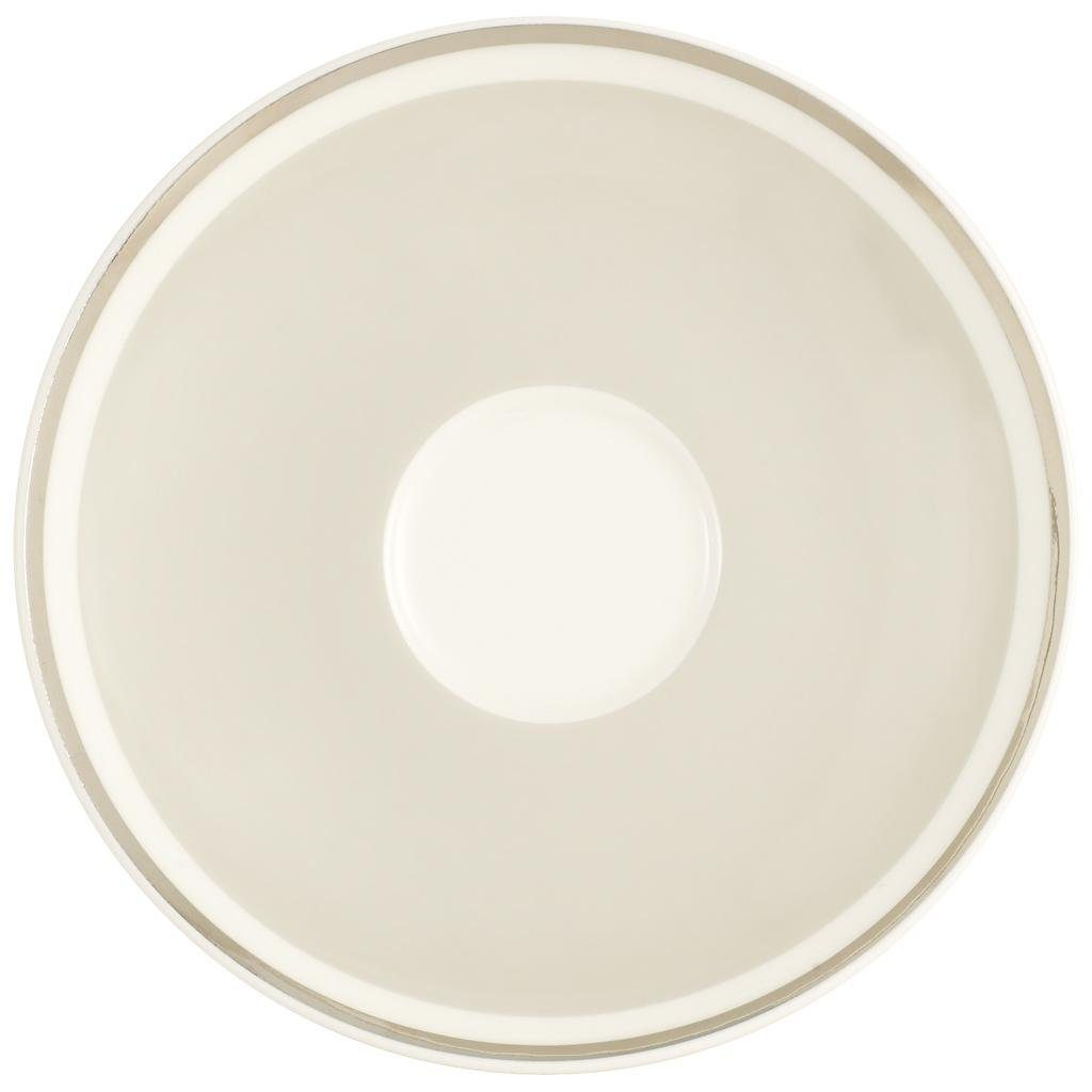 VILLEROY & BOCH Kaffeeuntertasse »Anmut My Colour Savannah Cream«