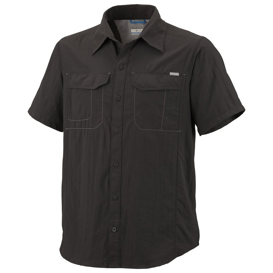 Columbia Hemd »Silver Ridge Short Sleeve Shirt Men« in grau
