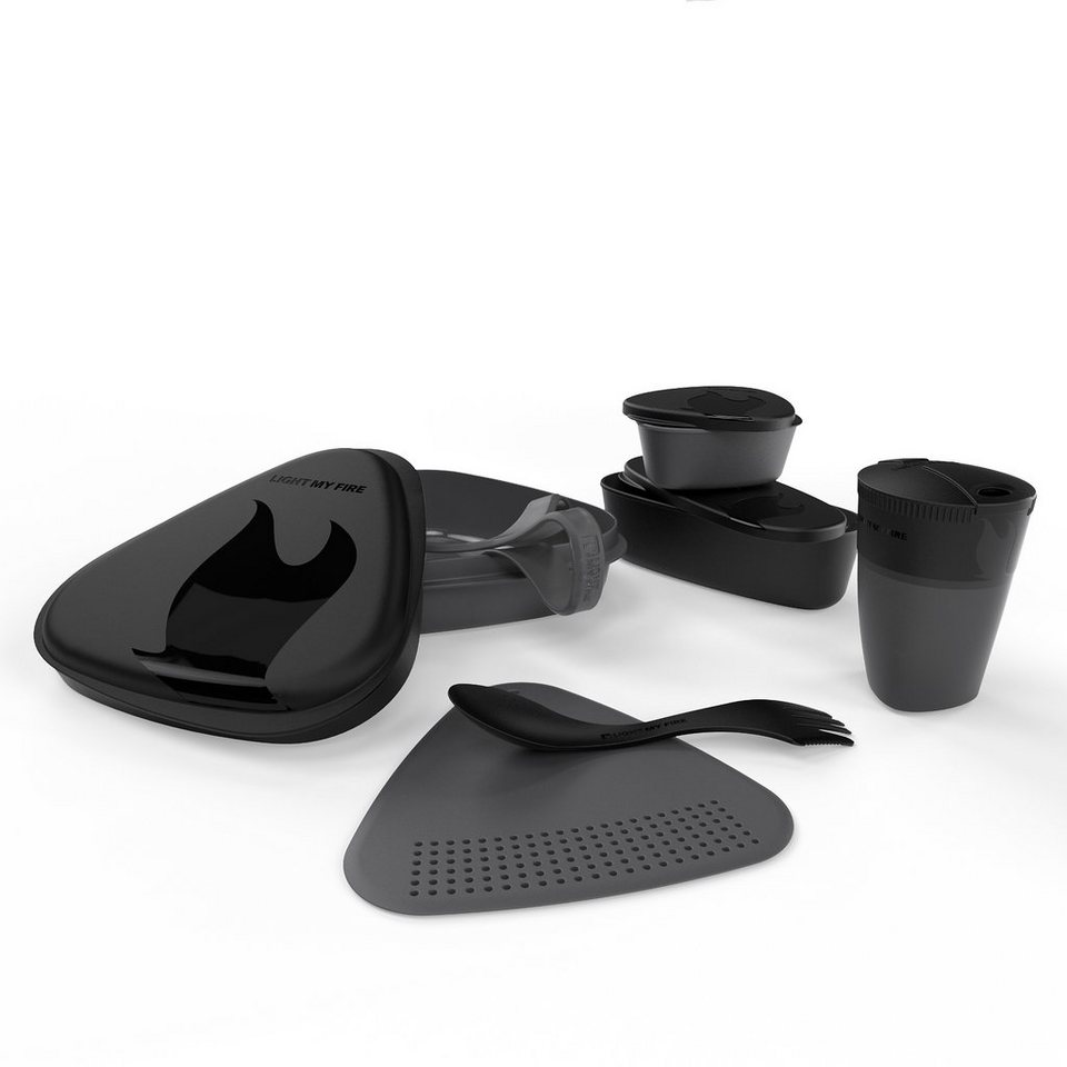 Light My Fire Camping-Geschirr »MealKit 2.0 schwarz« in schwarz