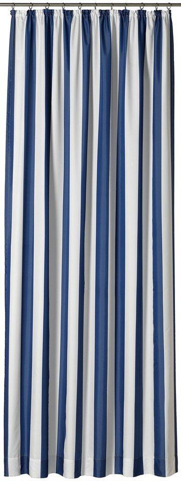 Vorhang, Gardisette, » Duo« (1 Stück) in blau