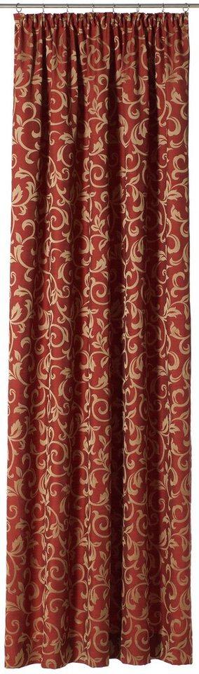 Vorhang, Gardisette, »Danielle« (1 Stück) in rot