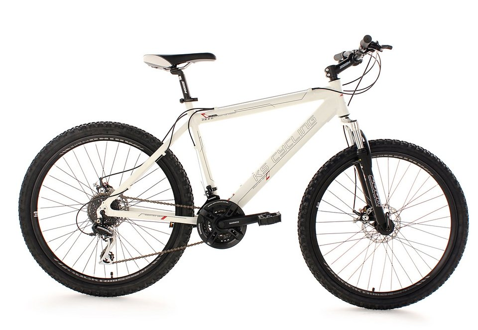 mountainbike ks cycling heed hardtail 26 zoll 24 gang shimano acera mech. Black Bedroom Furniture Sets. Home Design Ideas