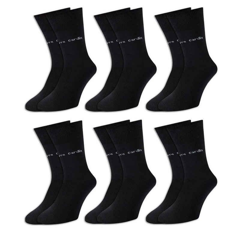 Pierre Cardin Freizeitsocken (6-Paar) wahlweise 6er, 9er oder 18er Paar, super elastisch, optimale Passform, angenehmer Tragekomfort