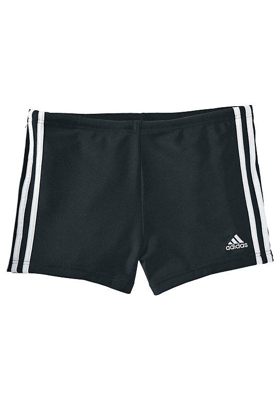 adidas Performance Boxer-Badehose in schwarz