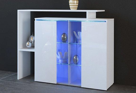 Borchardt Möbel Kommode, Breite 114 cm   Wohnzimmer > Schränke > Kommoden   Schwarz   borchardt Möbel