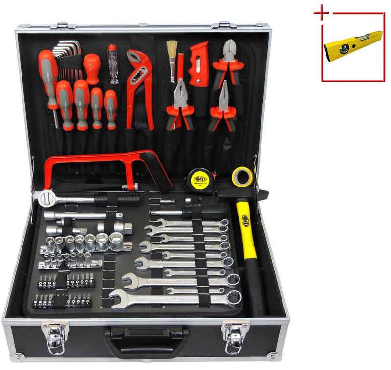 FAMEX Werkzeugset »759-63«, (125-St), Werkzeugkoffer mit Werkzeug