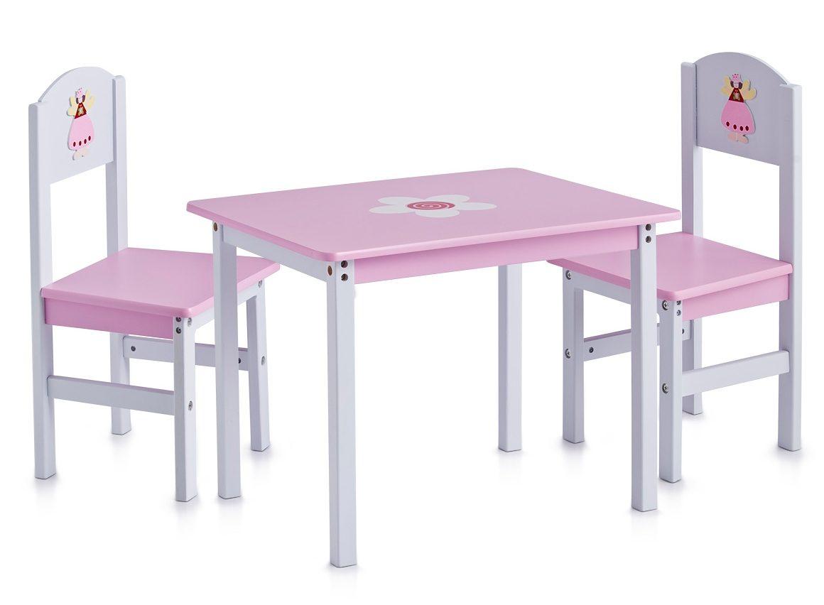 Home affaire Kinder-Sitzmöbel (3-tlg.) mit Prinzessinen-Motiv