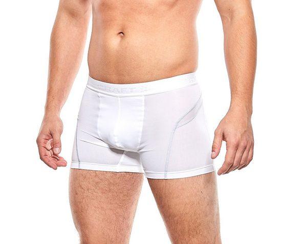 Craft Boxershorts »Craft Boxershorts atmungsaktive Herren Fitness-Unterhose mit Kühlleistung Unterhose Weiß«