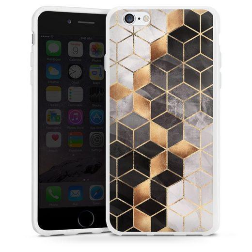 DeinDesign Handyhülle »Smoky Cubes« Apple iPhone 6, Hülle Elisabeth Fredriksson Würfel Muster