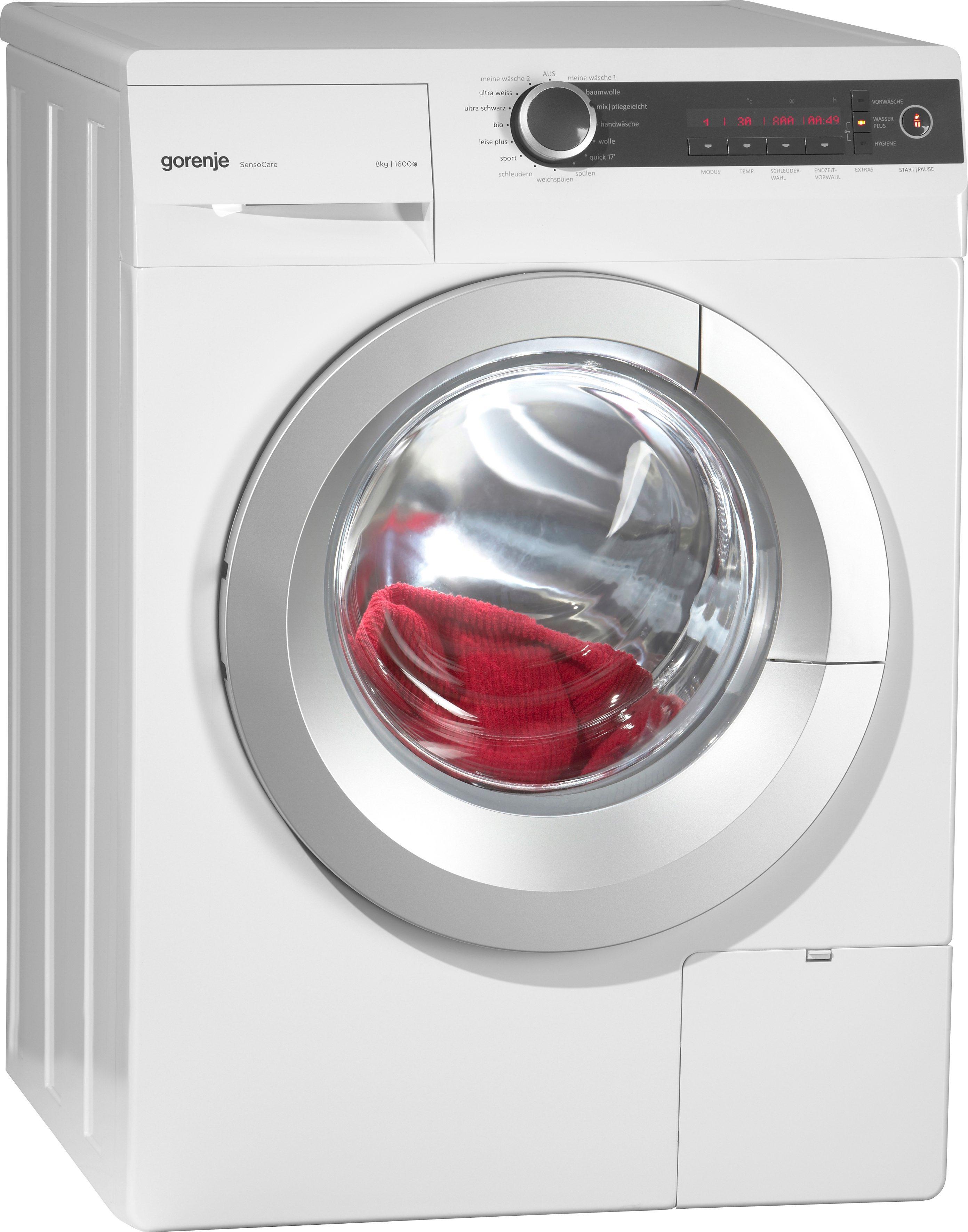 GORENJE Waschmaschine W8665I, A+++, 8 kg, 1600 U/Min