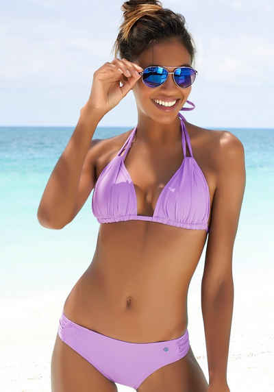 s.Oliver Triangel-Bikini-Top »Spain«, mit Raffung und Doppelträger
