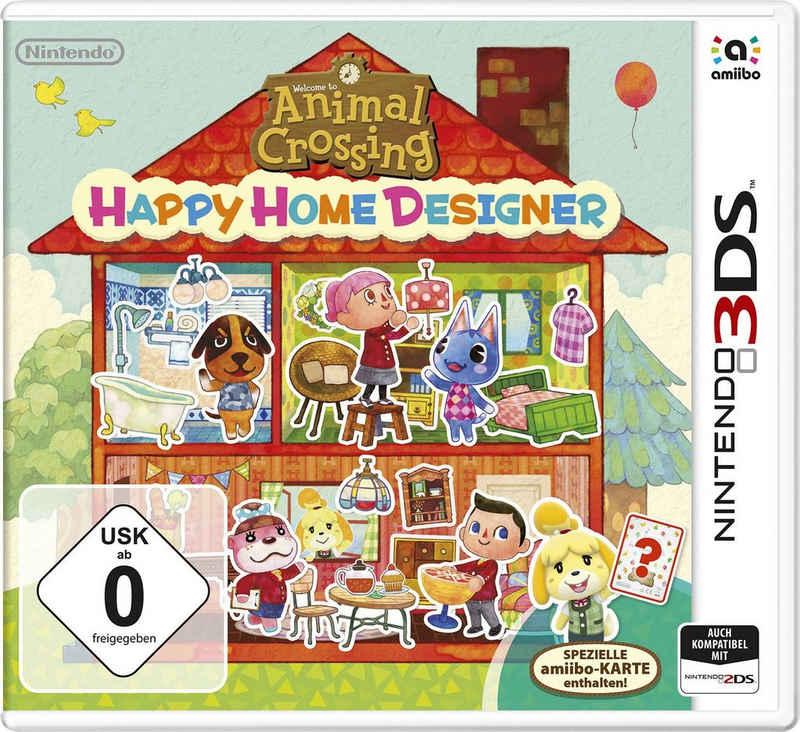 Animal Crossing Happy Home Designer Nintendo 3DS, inkl. Amiibo Karte