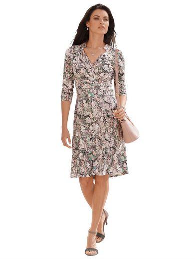 Amy Vermont Wickelkleid mit grafischem Muster