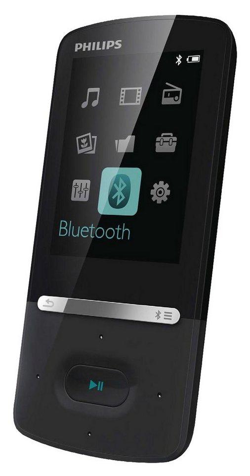 Philips SA5AZU08KF MP3-Player in schwarz