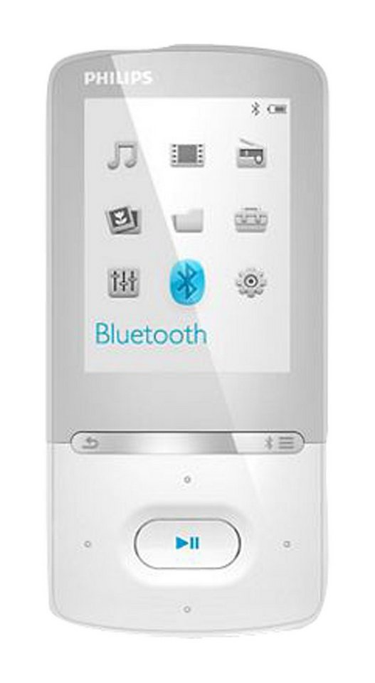 Philips SA5AZU04WF MP3-Player in weiß