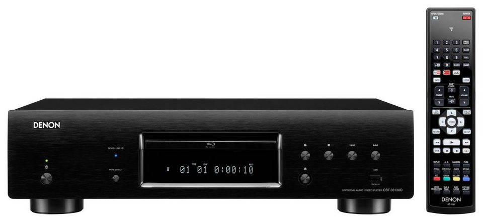 denon dbt 3313ud 3d blu ray player online kaufen otto. Black Bedroom Furniture Sets. Home Design Ideas