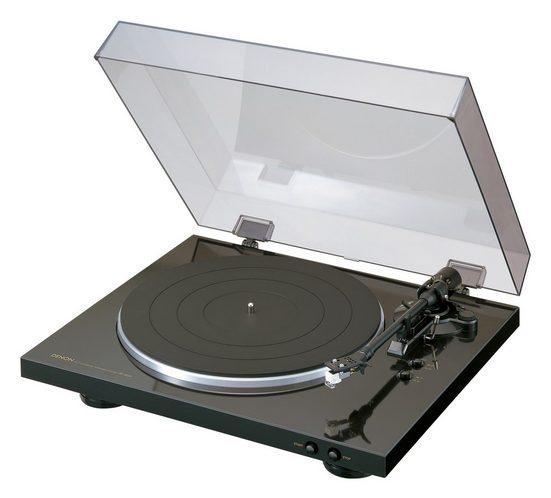Denon »Denon DP-300F Plattenspieler« Plattenspieler (Riemenantrieb)