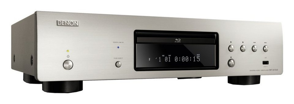 Denon DBT-3313UD 3D Blu-ray-Player in silberfarben