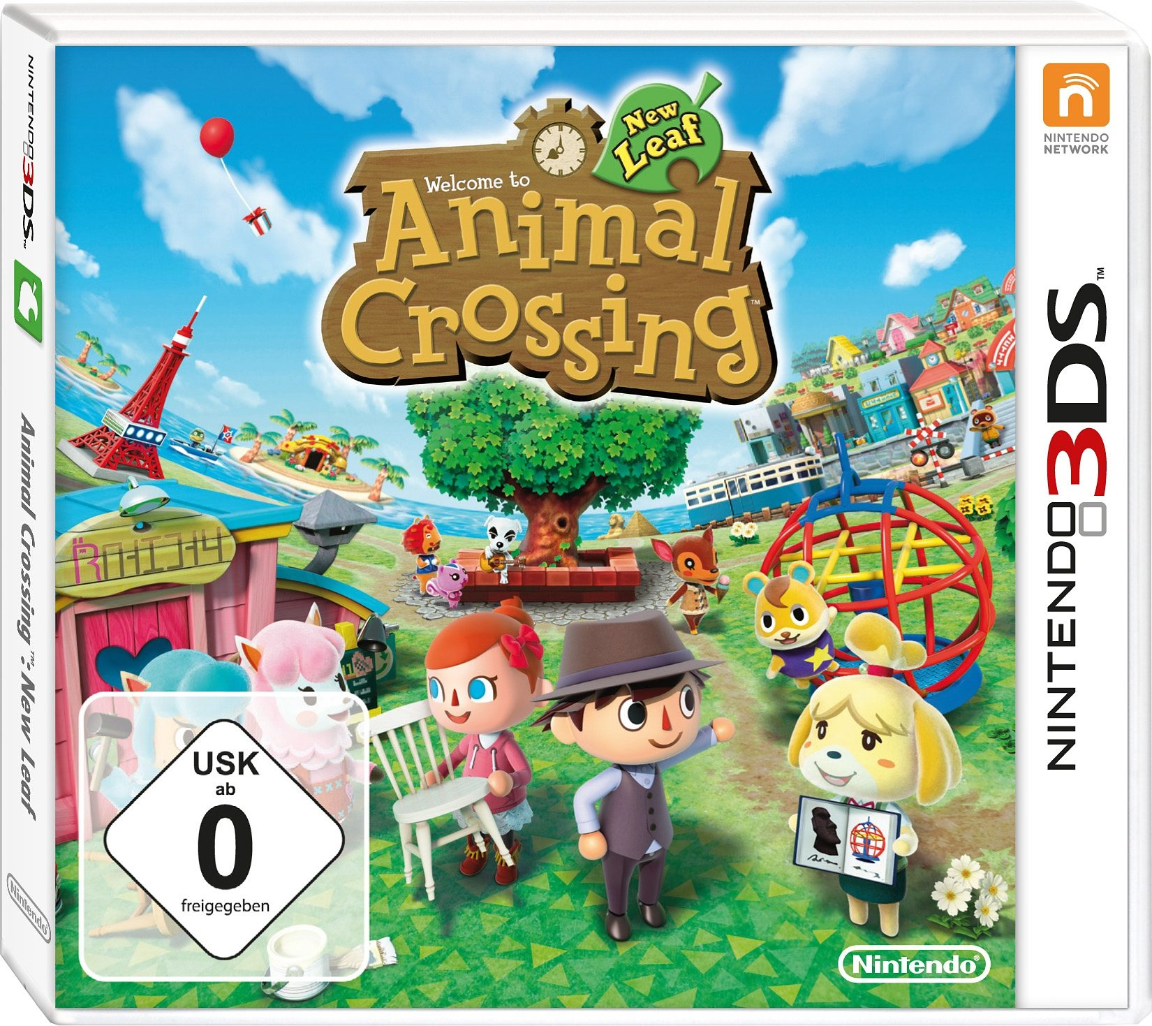 Animal Crossing: New Leaf Nintendo 3DS