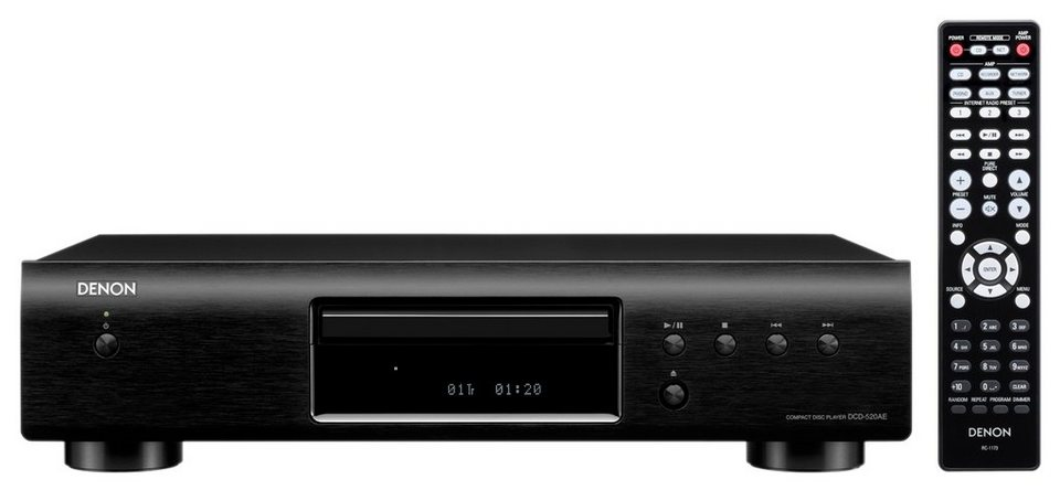 denon dcd 520ae cd player online kaufen otto. Black Bedroom Furniture Sets. Home Design Ideas