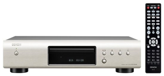 Denon »DCD-520AE« CD-Player (hochwertiger 32-Bit/192kHz D/A-Wandler)