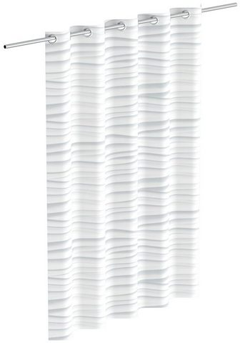 Eisl Duschvorhang »White Wave« Breite 180 c...