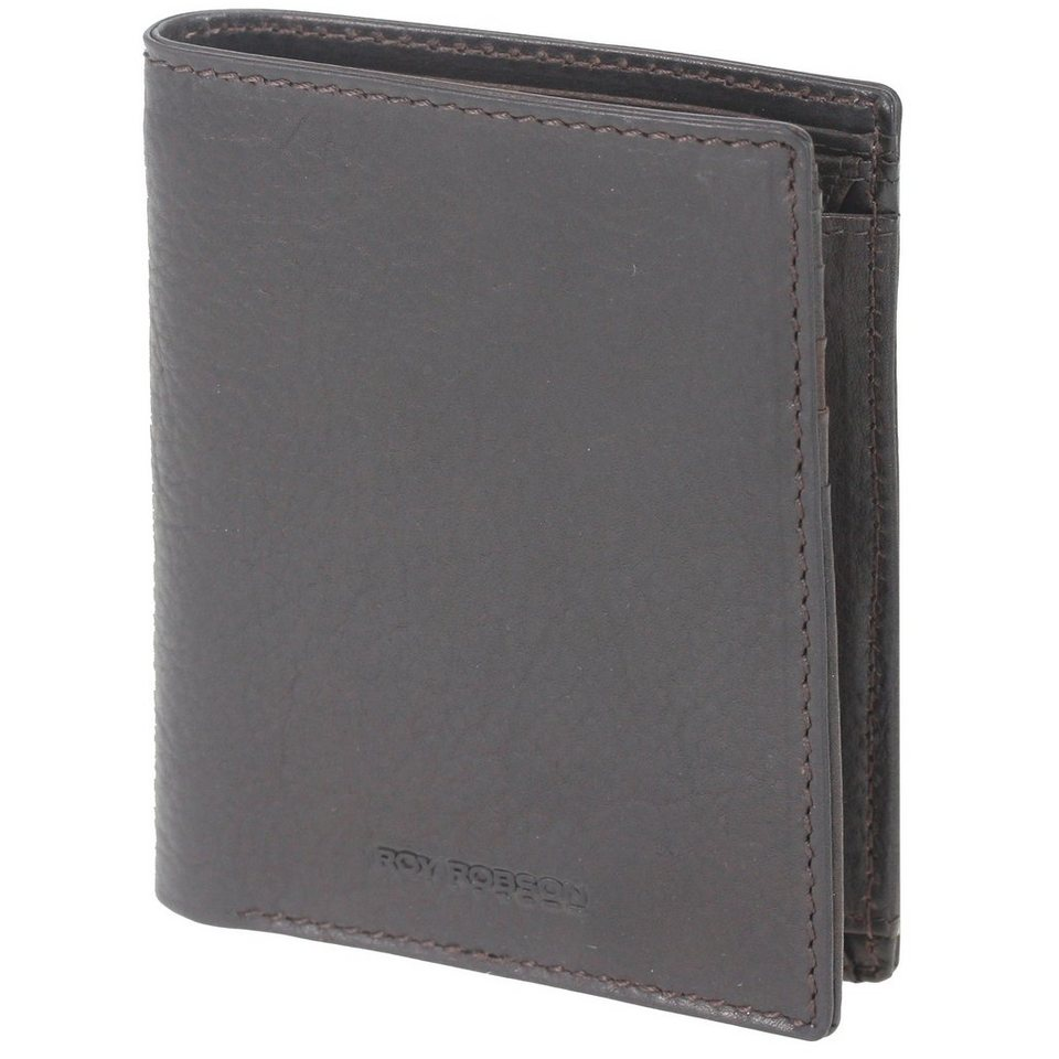 Roy Robson Colorado De Luxe Geldbörse Leder 10 cm in brown