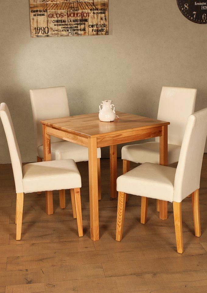 esstisch home affaire in 4 gr en online kaufen otto. Black Bedroom Furniture Sets. Home Design Ideas