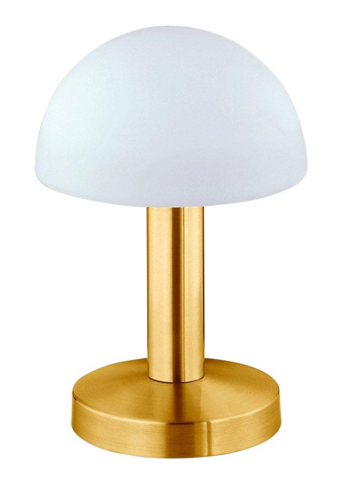SET: Tischlampen »Touch me« (1flg.) 2 Stück im Set, in 2 Farbstellungen in messingfarben