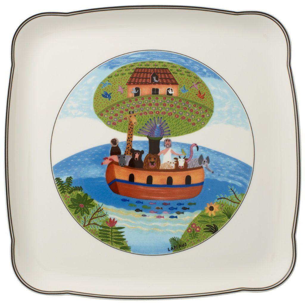 Villeroy & Boch Platte quadratisch 30cm »Charm & Breakfast Design Naif«