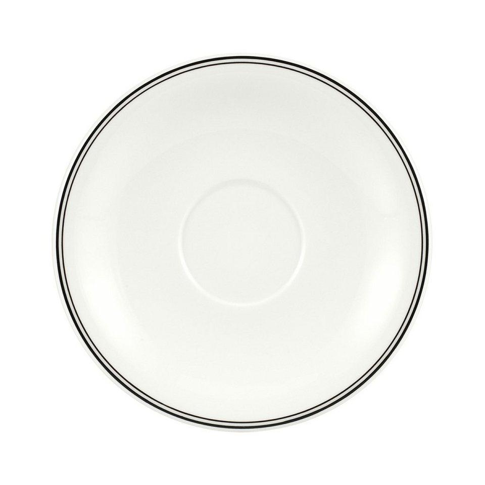 VILLEROY & BOCH Café au lait Untertasse XL 20cm »Charm & Breakfast Design Naif« in Dekoriert