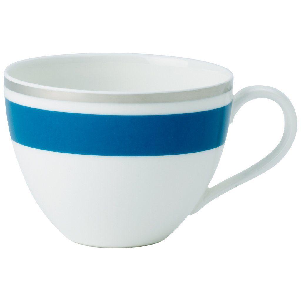 VILLEROY & BOCH Kaffeeobertasse »Anmut My Colour Petrol Blue«