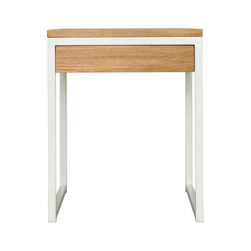 JOHANENLIES Nachttisch »Upcycling Nachttisch LUBERON OAK«, Recyceltes Eichenholz. Nachhaltig. Regional. In Handarbeit gefertigt.