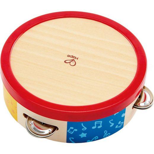 Hape Spielzeug-Musikinstrument »Bunter Tamburin«
