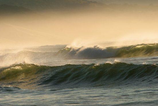PAPERMOON Fototapete »Waves«, Vlies, in verschiedenen Größen