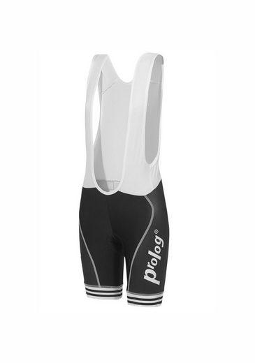 prolog cycling wear Radhose mit breiten Trägern und Sitzpolster
