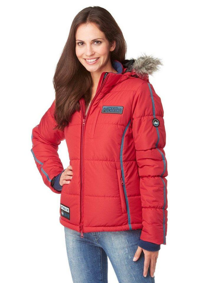 Polarino Skijacke in Rot