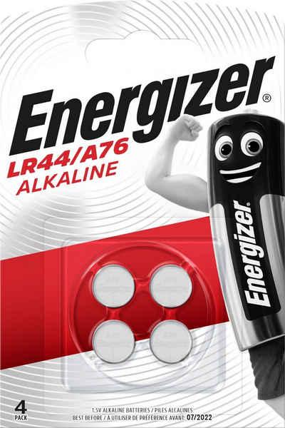 Energizer »Alkali Mangan LR44 / A76 4 Stück« Batterie, (1,5 V)