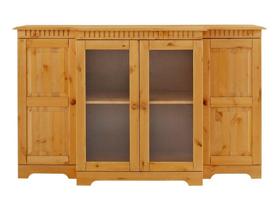 sideboard home affaire breite 150 cm h he 90 cm otto. Black Bedroom Furniture Sets. Home Design Ideas