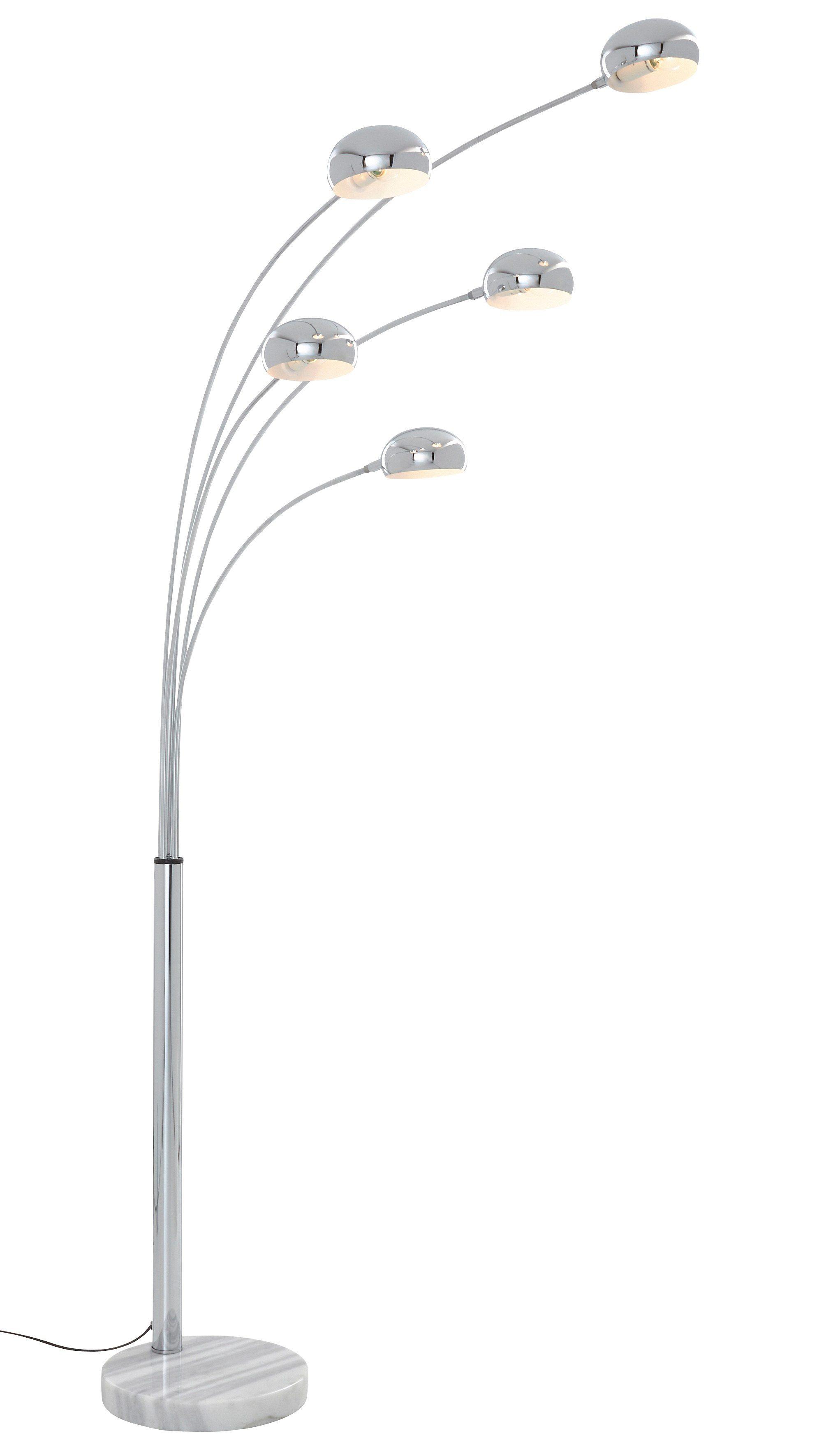 Bogenlampe, Trio. Die Leuchte ist geeignet für Leuchtmittel der EEK A++ bis E