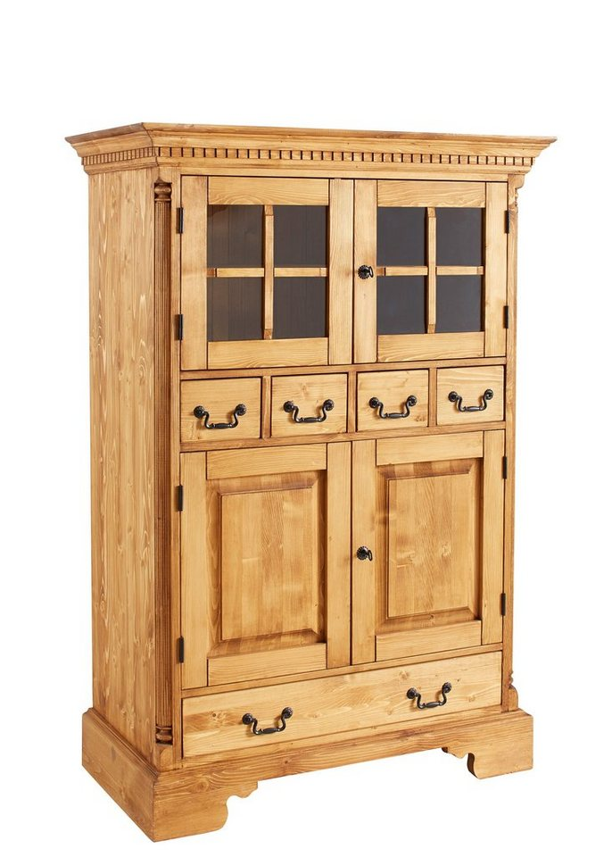 Premium collection by Home affaire Buffet »Oxford«, Höhe 157 cm in honigfarben antik