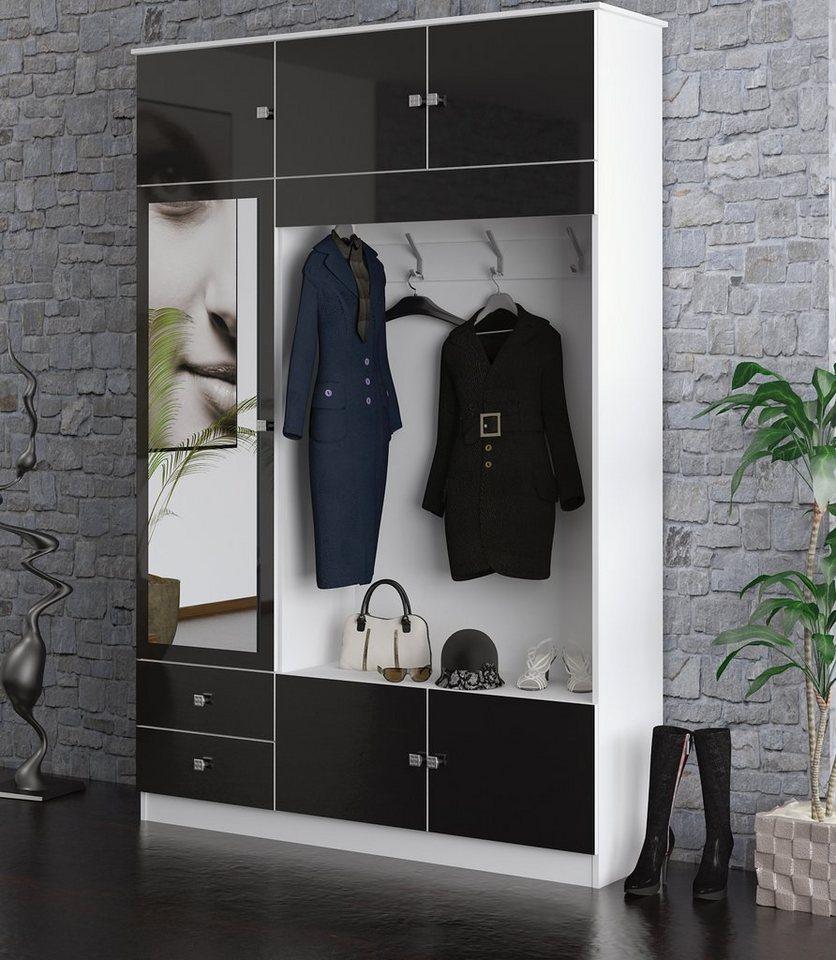 Garderobenschrank Mit Schiebetüren garderobenschrank kaufen flur dielenschrank otto