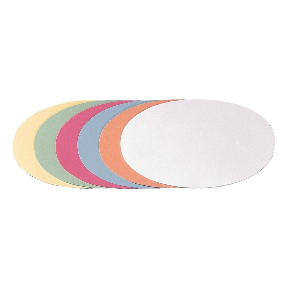 Franken Moderationskarten »Oval«