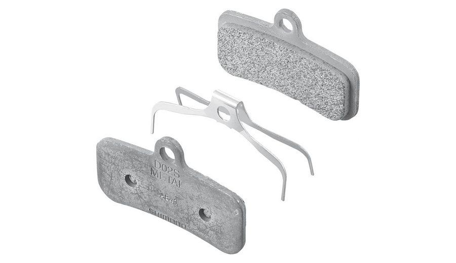 Shimano Bremsbelag »D02S Scheibenbremsbelag Metall«