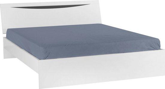 Home affaire Bett »Letty« (2-tlg), in schöner Holzoptik, in zwei unterschiedlichen Farbvarianten, Breite 160 cm