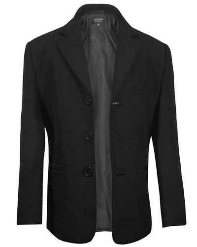 Paul Malone Sakko »Elegantes Kindersakko Anzugjacke Jackett für Jungen« schwarz KA20, Gr. 92