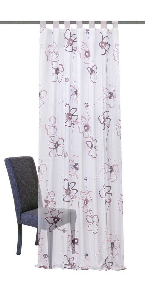gardinen deko » gardinen mit schlaufen zum binden - gardinen ... - Küchengardinen Mit Schlaufen