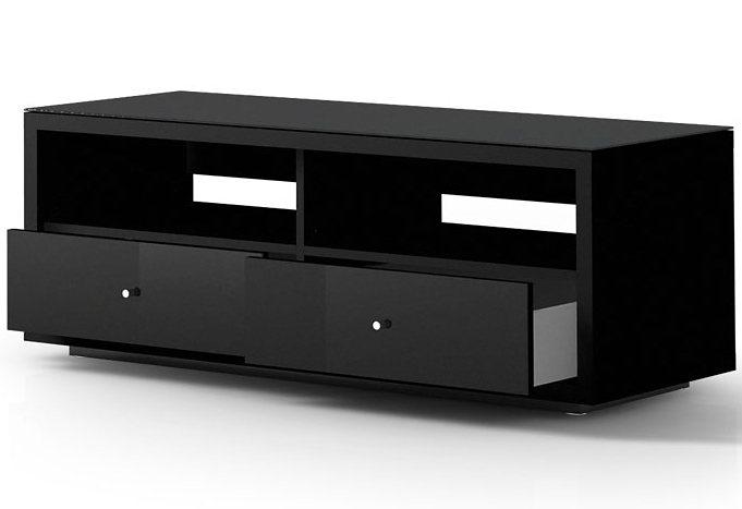 Lowboard, Just Racks, Breite 120 cm in schwarz